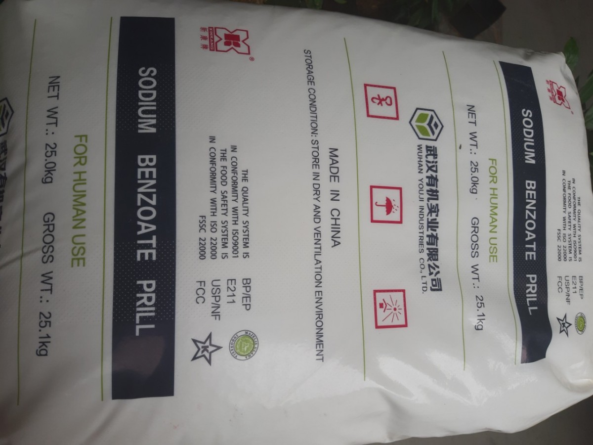 SODIUM BENZOATE (Hạt)