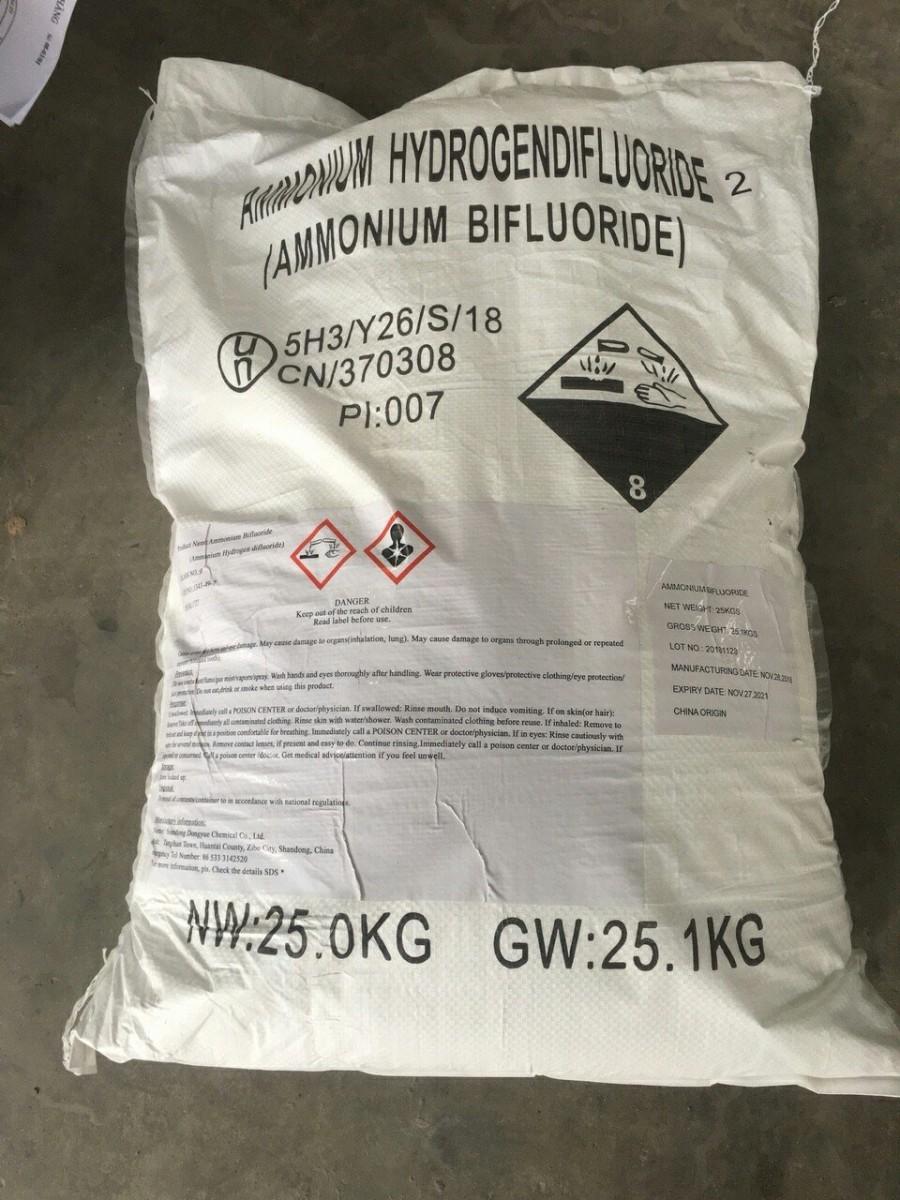 Ammonium Bifluoride (NH4HF2)